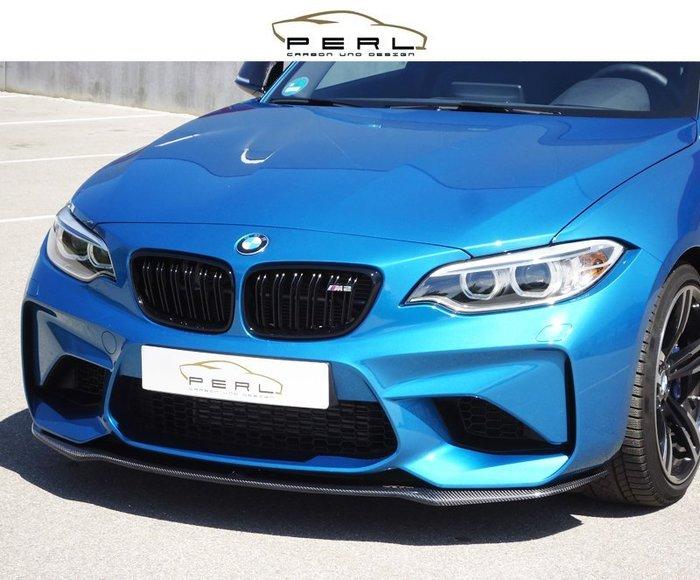 【樂駒】Perl Carbon Design BMW F87 M2 下巴 飾板 碳纖維 空力 外觀 套件