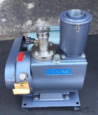 日本進口ULVAC D-650 (2HP)油式真空幫浦/真空機---真空包裝、翻模、真空脫泡機、真空含浸可用