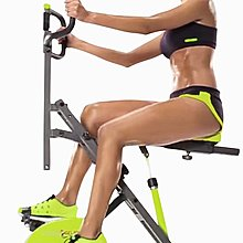 【Fitek 健身網☆年終特價】兩用騎馬機/健腹機+磁控健身騎馬健腹兩用機(健腹機/健身車)