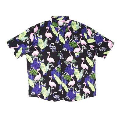 Cover Taiwan 官方直營 花襯衫 短袖襯衫 嘻哈 寬鬆 沙灘 海灘 夏威夷 大尺碼 美版 3XL (預購)