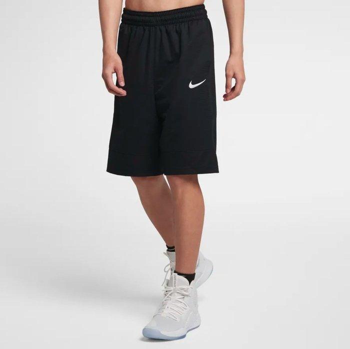 Nike 2019年春夏 男子籃球短褲 全黑 831405 010