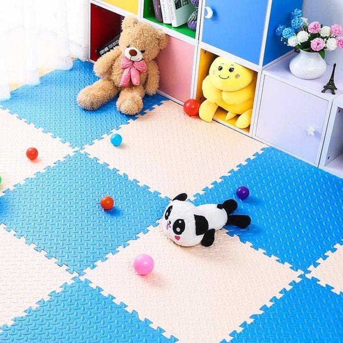 泡沫地墊拼接兒童爬爬墊家用臥室榻榻米寶寶爬行墊鋪地板墊子拼圖
