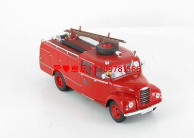 愛♥車居 31# IXO 1:43消防車SERVICE PROVINCIAL DE TARAZONA汽車金屬模型l車模飛機機車摩托戰斗機警車