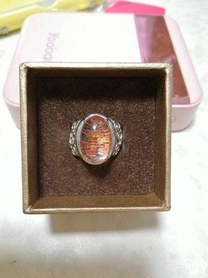 🆕紅幽靈蛋面戒指ring