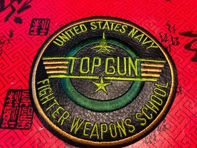 『華山堂』美國空軍學校 大刺繡臂章 燙貼布 徽章 布章 刺繡燙布 電繡  U.S. AIR FORCE. TOP GUN