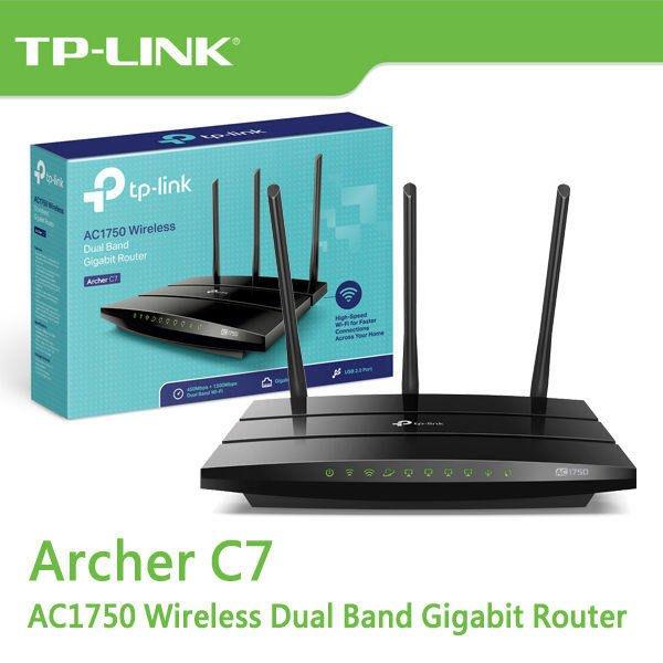 TP-LINK Archer C7 V5 AC1750 次世代極速 Gigabit 無線路由器