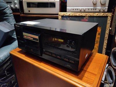 日本 Pioneer 先鋒 25片 光碟播放機 9成新 PD-F407 台灣電壓