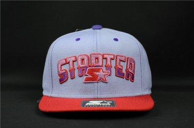 Cover Taiwan 官方直營 Starter Snapback 棒球帽 平沿帽 嘻哈 紫色 紅色 (預購)