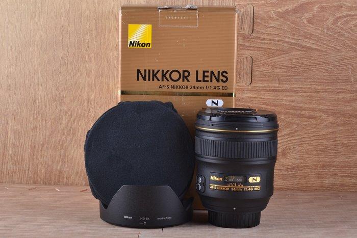 【高雄品光攝影】Nikon AF-S 24mm F1.4 G ED 定焦 廣角 大光圈 #41102