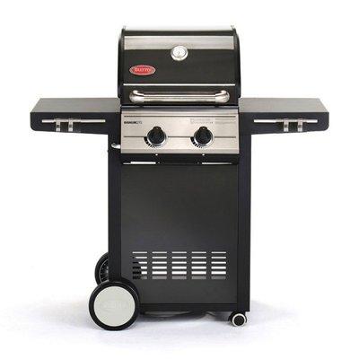 Burny德國 2頭燃氣烤肉爐 (燒烤鑄鐵烤肉爐/烤肉架/中秋燒烤/過年圍爐BBQ/烤肉架/焚火台)
