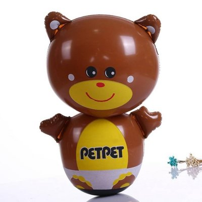 不倒翁氣球 充氣氣球 氣球玩偶