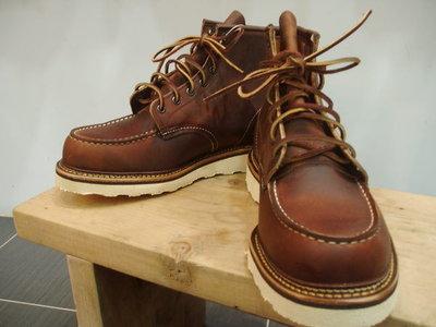 【美國鞋校】 現貨  RED WING 1907 百年經典進階款 (無鋼印)RW 工作靴