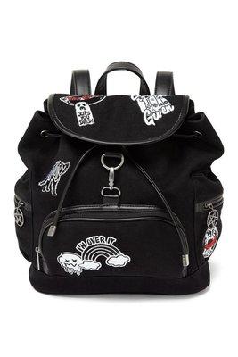 【丹】KS_Spektra 90's Warp Backpack 黑色 補丁 風格 後背包 肩背包