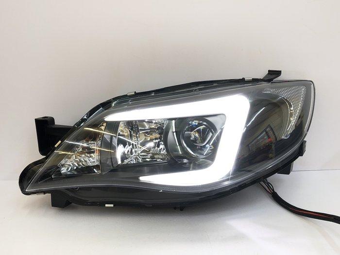車燈 impreza wrx STI 導光 LED HID 魚眼 大燈 10代 08 09 10 11 12 13 14