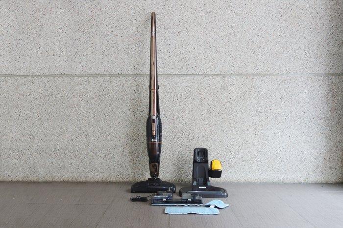 【台中青蘋果】LG VS8605SWM 二手 直立式無線吸塵器 #48037