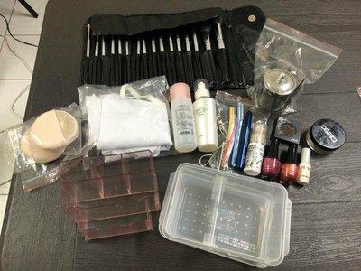 【甜心亂賣】(面交免運)美容丙級檢定用具-(109/7/30考完)彩妝和保養用具全套,都是標準配備。