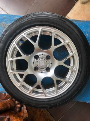 15吋鋁框輪胎全套   195/55R15.   ET40