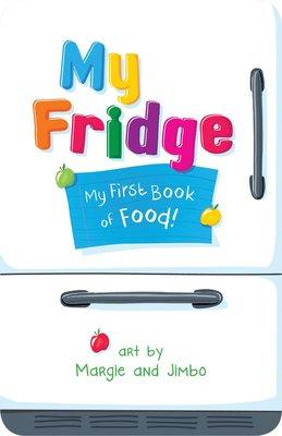 *小貝比的家*MY FRIDGE:MY FIRST BOOK OF FOOD/硬頁書/2-3歲幼幼班/食物/健康