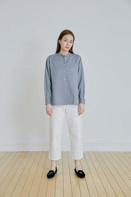 //MASKA//藍色提花襯衫!!KIITO APT-3R 小闆娘