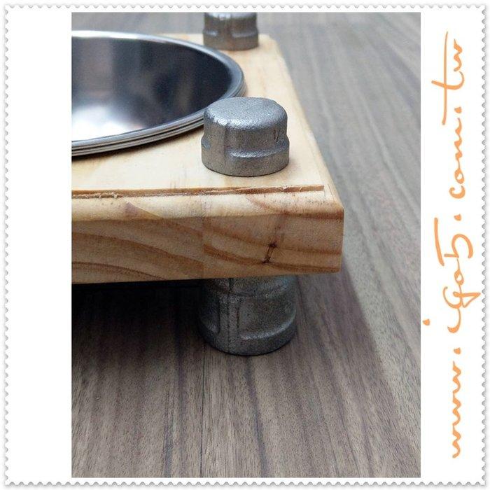 [ 鈦鴻興業 ] 工業風全白鐵毛小孩吃飯台 材料包 低腳 QAVC572 LOFT DIY