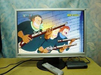?【小劉二手家電】22吋液晶電視(液晶螢幕+電視盒),有紅黃白3色AV端子,可接監視器,機上盒,MOD,DVD,卡拉OK