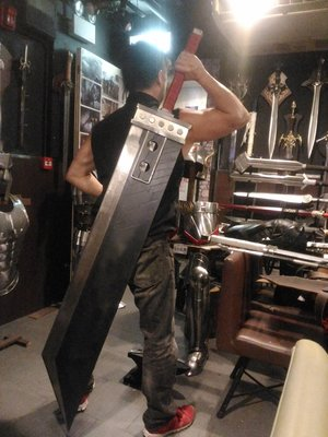 太空戰士7 破壞之劍 cosplay Final Fantasy VII remake Cloud Buster Sword