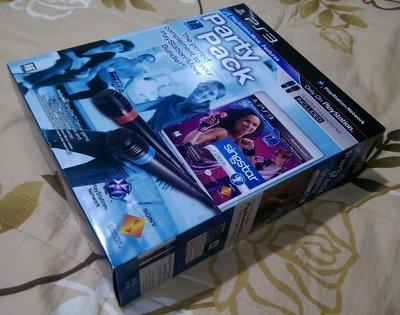 PS3 熱舞歌唱 雙麥克風同捆 Singstar Dance Party Pack (全新未拆)