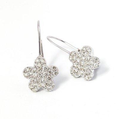 【JHT金宏總珠寶/GIA鑽石專賣】0.30克拉天然鑽石耳環/材質:18K(JB38-A12)