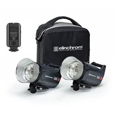 【EC數位】愛玲瓏 Elinchrom ELC PRO HD 500 TO GO 套組 雙燈套組 專業攝影 愛玲瓏套裝
