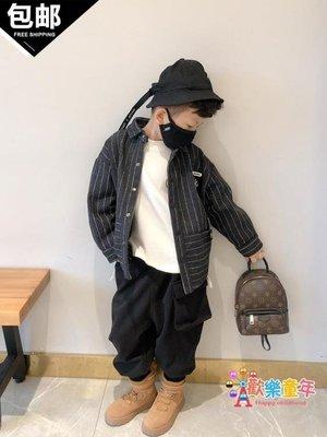 男童外套秋冬新款中大童韓版夾克寶寶童裝外衣兒童毛呢上衣潮