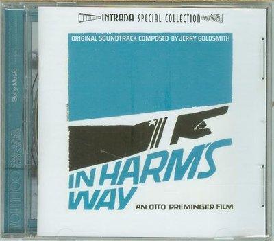 """""""海上長城(In Harm's Way)""""- Jerry Goldsmith(178),全新美版"""