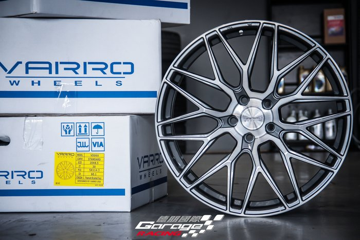 德朋國際 / VARRO VD06 TOYOTA SIENNA實裝 20*8.5J ET30 搭配輪胎更優惠