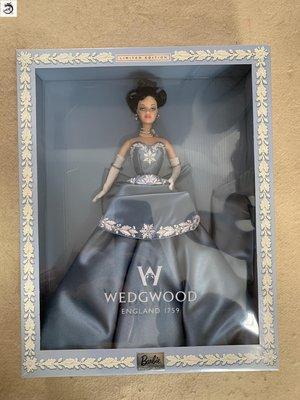 九州動漫芭比 Barbie Wedgwood England 韋奇伍德 2000 現貨 珍藏版