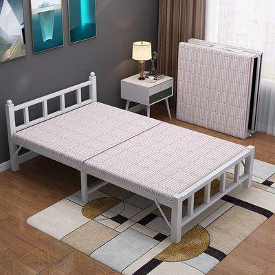 折疊床折疊床單人午休床家用簡易辦公室午睡成1.2米雙人租房陪護硬板床