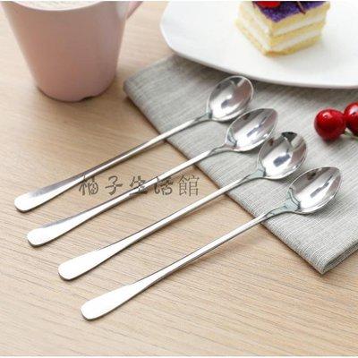 ????創意生活百貨 ????韓式創意餐具硅膠手柄不鏽鋼勺子 時尚卡通調羹 咖啡攪拌勺不鏽鋼勺子【柚子生活館】