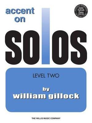 【599免運費】Accent on Solos Book 2 重讀獨奏書2 / HL00416214