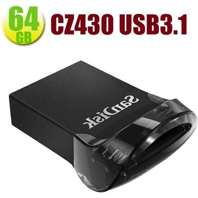 SanDisk 64GB SD CZ430 64G ultra Fit【SDCZ430-64G】USB3.1 隨身碟 台北市