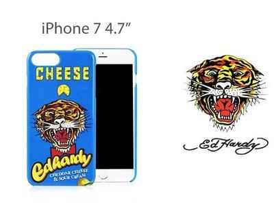 ☆韓元素╭☆ED HARDY iPhone 7 起士洋芋片 4.7吋 CHEESES POTATO 保護殼 亮面 硬殼
