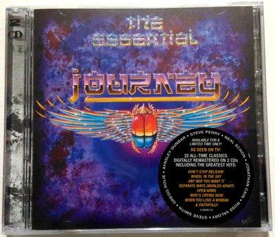 全新未拆 2CD  / 旅行者合唱團 Journey / 世紀典藏 2CD The Essential / 美版 破盤價