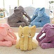 姵蒂屋長約60公分 大象抱枕公仔毛絨玩具大象抱枕嬰兒安撫玩具嬰兒枕頭靠枕生日禮物