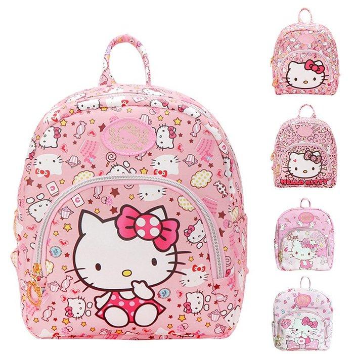 韓版hellokitty幼稚園書包男女孩1-3-6歲寶寶可愛卡通兒童小書包雙肩背包