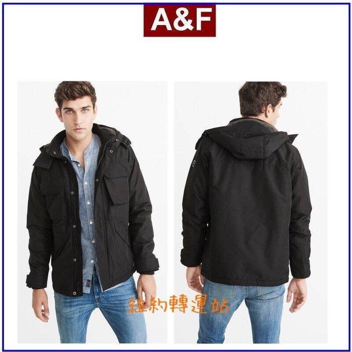 紐約轉運站 :美國現貨在台100%全新真品 A&F男生連帽防風外套Abercrombie and Fitch