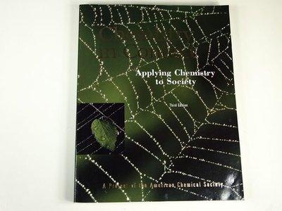 【考試院二手書】《Chemistry in context : applying chemistry to society》華泰│Conrad L. │ 八成新