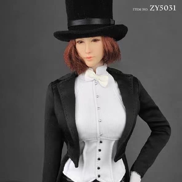 ZYTOYS ZY5031 1/6比例 兵人偶配件 性感燕尾服 服飾套裝  不含人偶