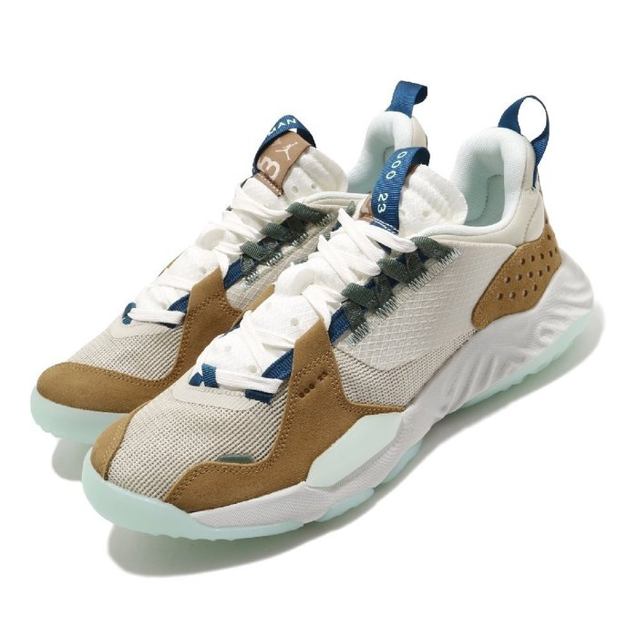 =CodE= NIKE AIR JORDAN DELTA 透氣網布籃球鞋(卡其米白)DB5923-141 REACT 男