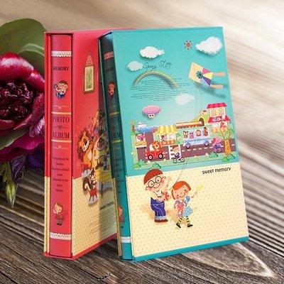 全館超增點大放送情侶相冊本插頁式6寸4R大容量300張家庭六寸影集大本兒童紀念冊本