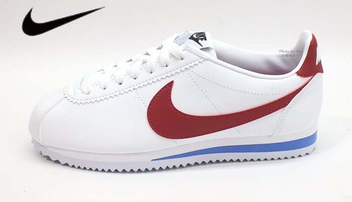 NIKE WMNS CLASSIC CORTEZ LEATHER 女款運動休閒鞋 阿甘鞋 (807471103)