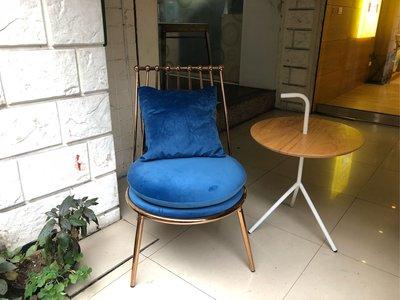 【 一張椅子 】水金金 藍寶石 華麗餐...
