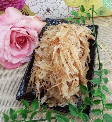 旗津海洋食品-北海道魷魚絲1包100元110克