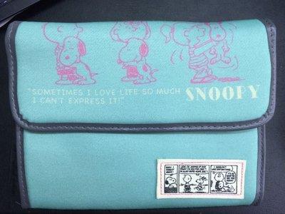 ☆Juicy☆日本樂天熱賣SNOOPY 史奴比 蒂芬妮藍 多功能護照夾 收納包 母子手帳包 平板套 手帳包 3370-3